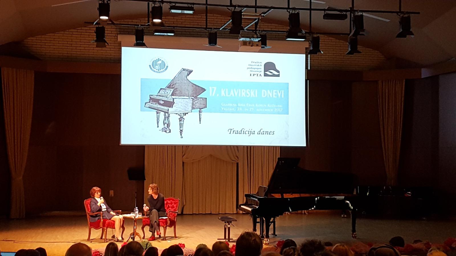 17. klavirski dnevi – Velenje 2017