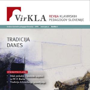 Na voljo že 6. številka revije Klavirskih pedagogov Slovenije VirKLA!