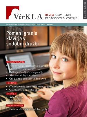 Virkla št. 2 - Pomen igranja klavirja v sodobni družbi (junij 2014)